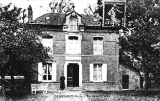 Photo ancienne de Campigny